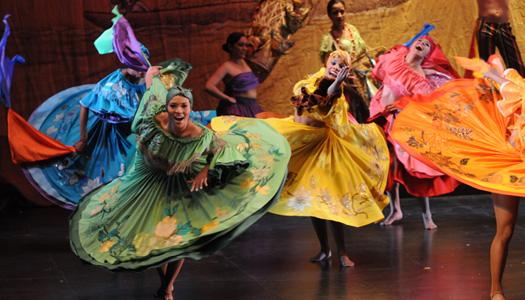 La danza colombiana va aChina