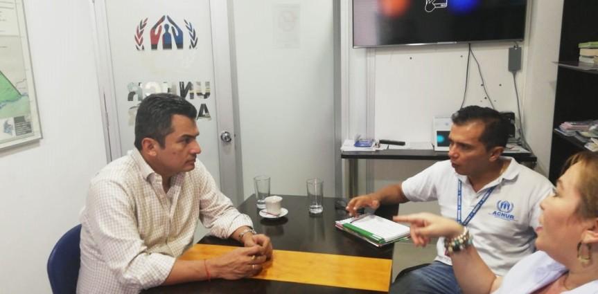 Presidente de Persocapitales estuvo en frontera venezolana para inspeccionar situación demigrantes