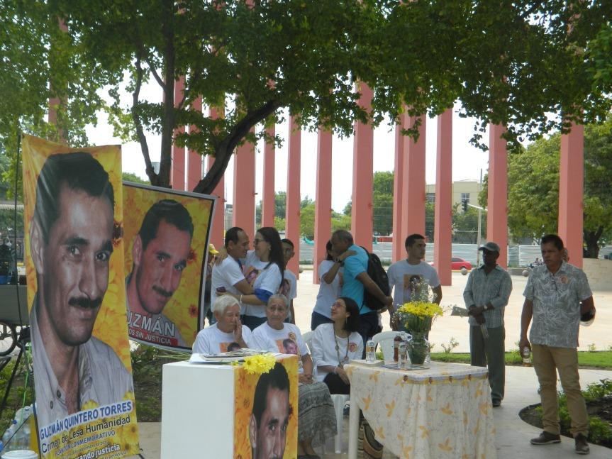 Declaratoria de crimen de lesa humanidad y plantón conmemorativo por los 20 años del asesinato del periodista GuzmanQuintero