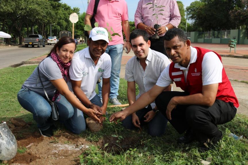 En la UPC, Bosque de Paz y declaratoria de Territorio dePaz