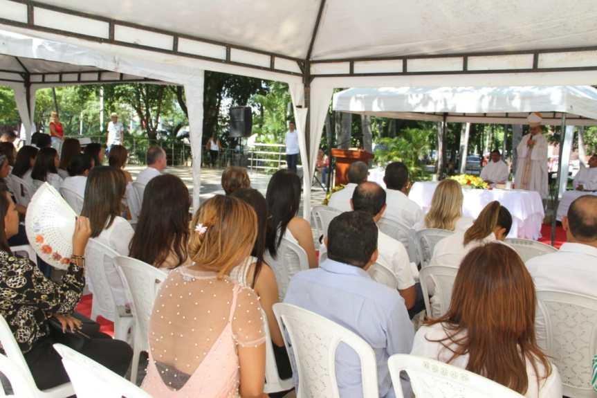 Con mensaje contra el esclavismo y petición a la generación de trabajo, cerró el Obispo de Valledupar la Semana por laPaz