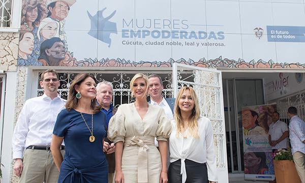 Vicepresidenta inauguró Casa de la Mujer Empoderada en compañía de IvankaTrump