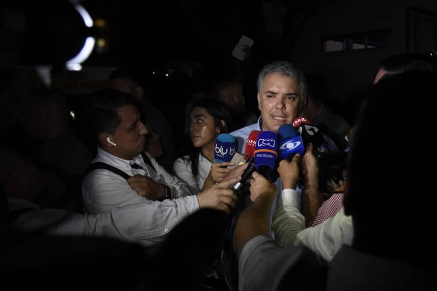Colombia no va a dejar de denunciar lo que está ocurriendo con esta dictadura': PresidenteDuque