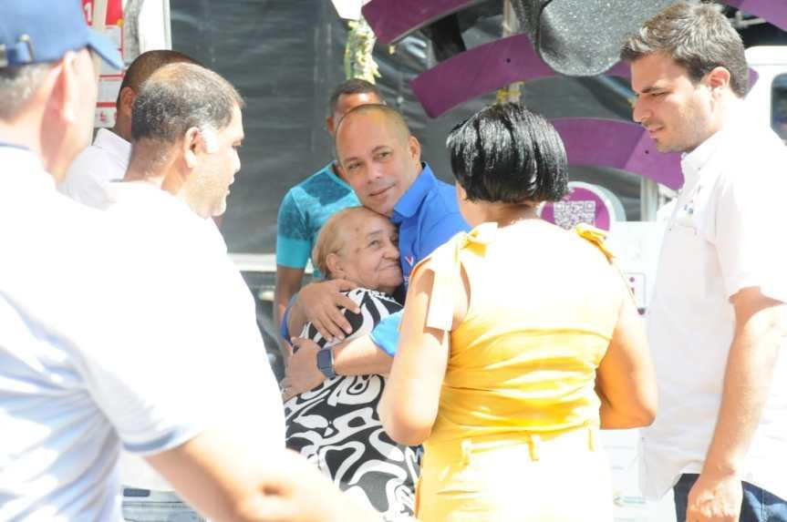 Ernesto Orozco se comprometió a reactivar el sector de la GaleríaPopular