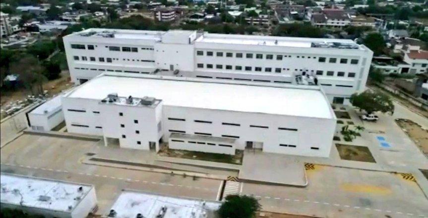 Monsalvo anuncia que, de volver a la Gobernación, en los primeros 100 días pondrá en servicio las 30 camas de UCI en Hospital Regional deAguachica