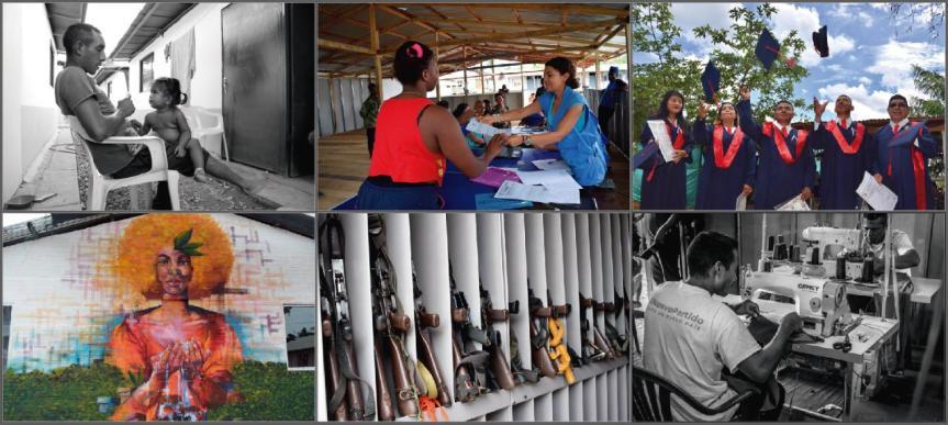 """Con exposición de fotografías """"Actores de paz"""" ONU regional Caribe conmemora Día Internacional de laPaz"""
