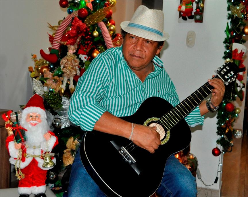 Rosendo Romero Ospino, autor de la canción 'Mensaje de Navidad'.JPG