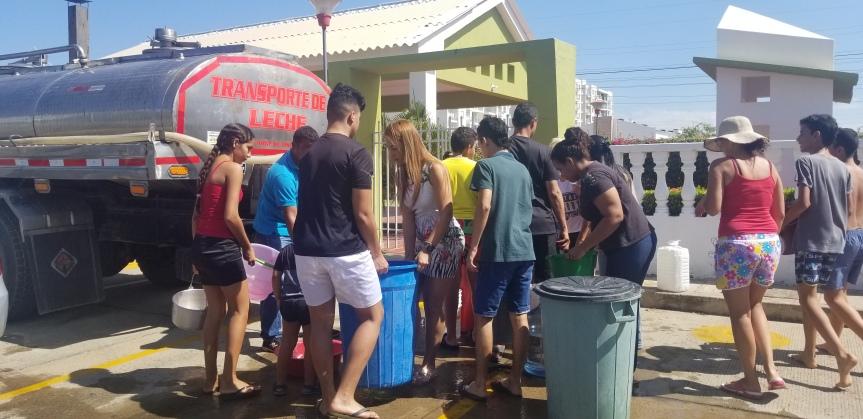 Solucionado problema de agua de los barrios delNorte