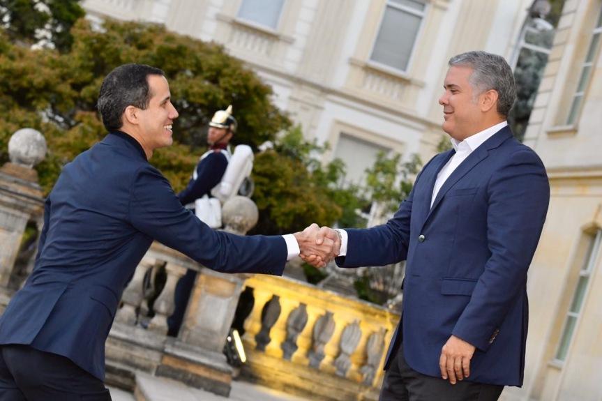 Presidente Duque en reunión con Guaidó destacó su valentía frente a ladictadura