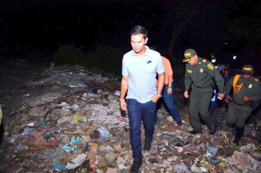 Alcalde Mello Castro visitó los puntos más críticos deValledupar
