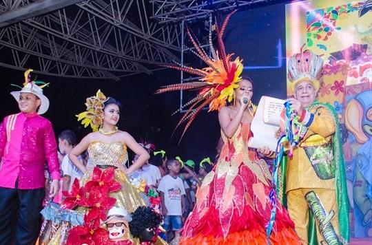 Espectacular presentación en la Lectura del Bando de Carnaval2020