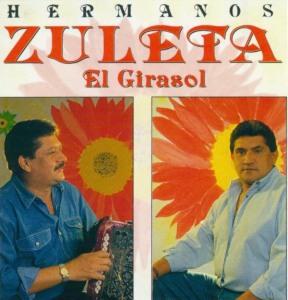 Carátula de Los Hermanos Zuleta en la producción musical 'El Girasol' grabada en el año 1995