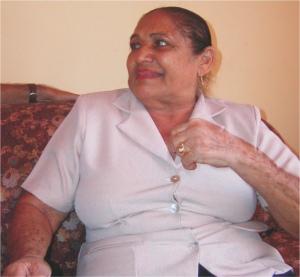 Carmen Ramona Bracho Cataño, la nieta de Juana Arias - Foto Santander Castro
