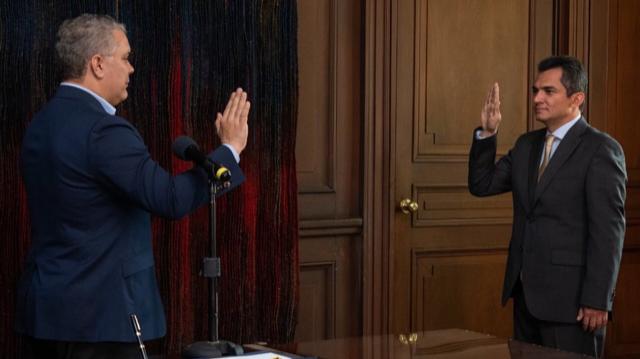 Presidente Duque posesionó a Alfonso Campo Martínez como director de laUNP