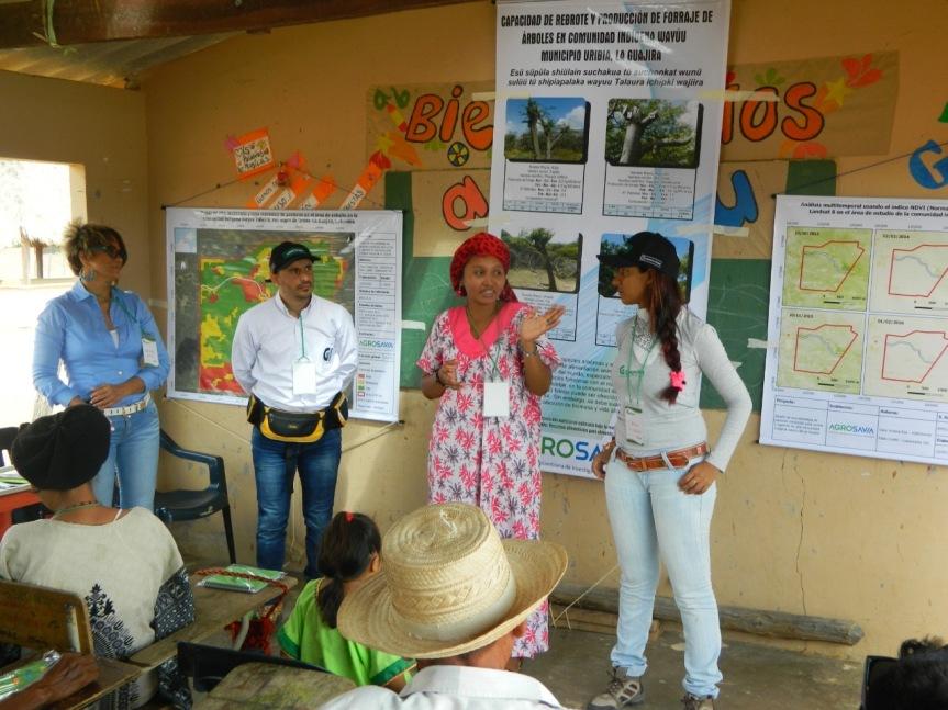 Agrosavia resalta los logros obtenidos por su primera tesistaWayú