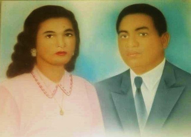 Cuadro de Rosalbina y Luis Enrique, el que más le gustaba a los dos