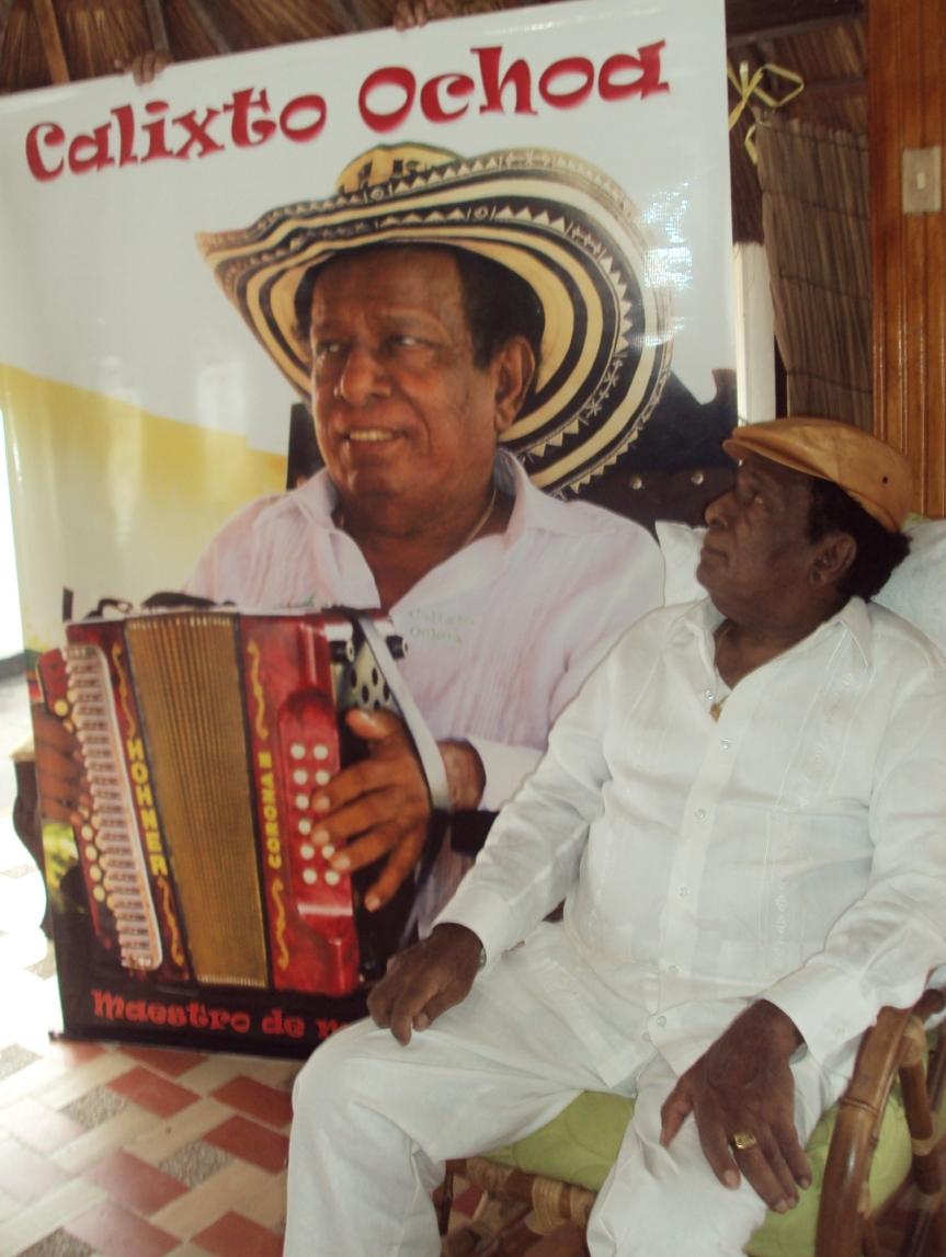 Calixto Ochoa, toda una vida llena de músicavallenata