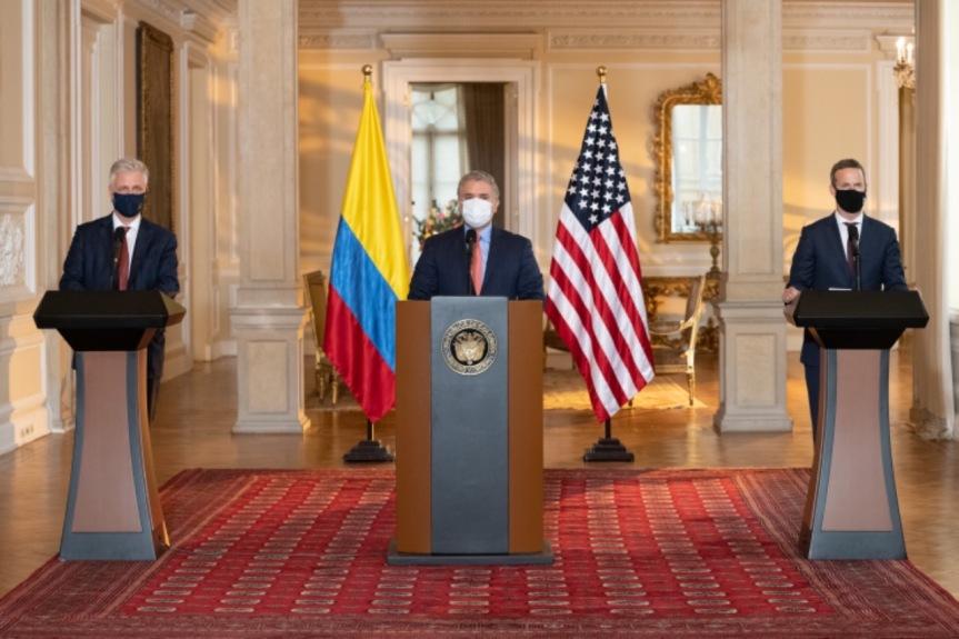 """Colombia y EEUU lanzan la iniciativa """"ColombiaCrece"""""""