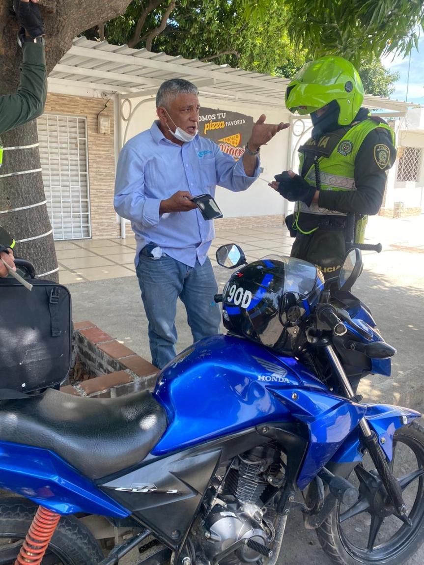 Capturan falso funcionario portando prendas institucionales de Emdupar