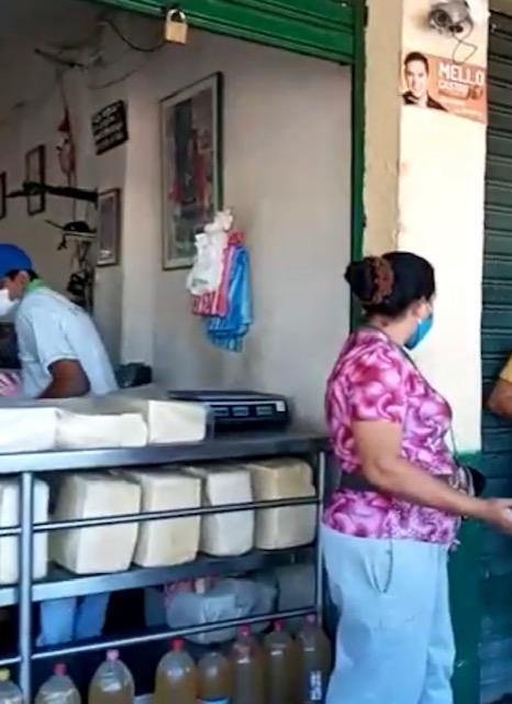 Voces de protesta ante cierre temporal del mercado público por 66 casos deCovid
