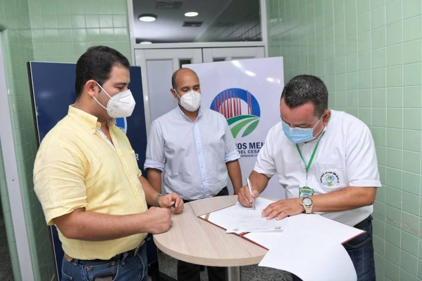 Con aumento de UCI COVID en Aguachica, terminó recorrido del Gobernador encargado por el sur delCesar