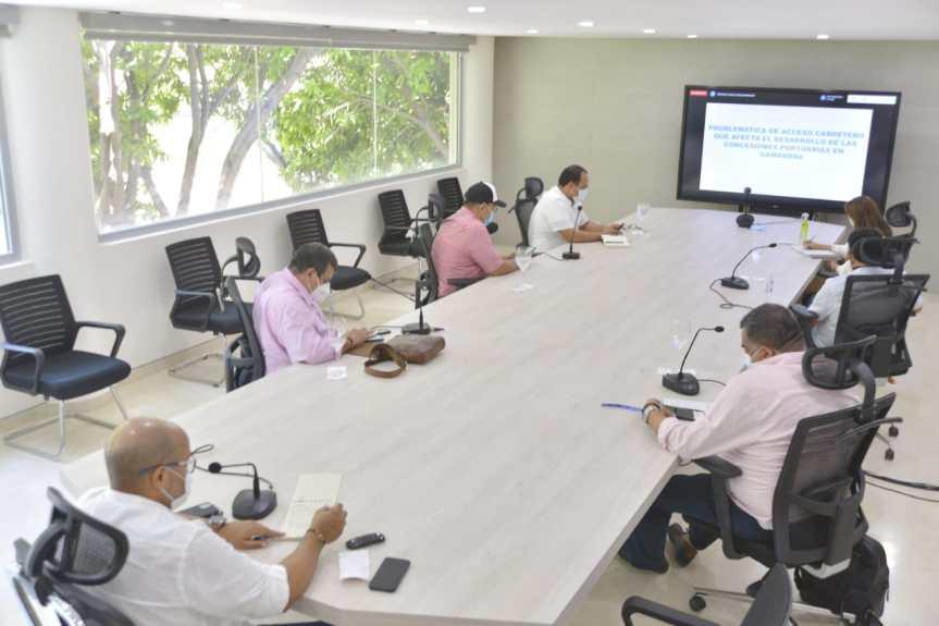 Gobierno del Cesar articula esfuerzos para establecer puerto multimodal enGamarra
