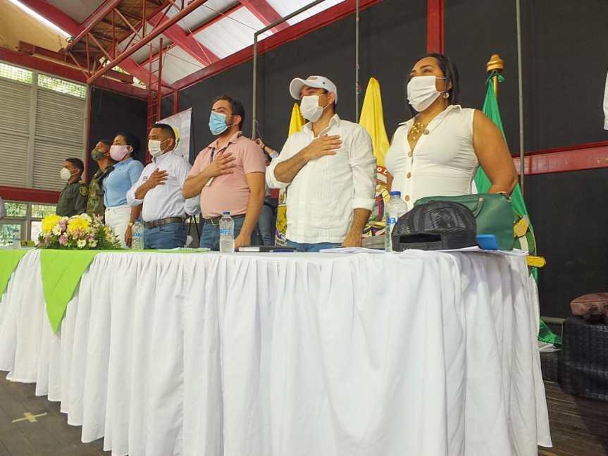 En Bosconia, Gobierno del Cesar inició instalación de Consejos Municipales de Paz, Reconciliación yConvivencia