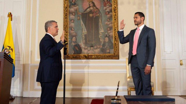Daniel Palacios fue designado como nuevoMinInterior