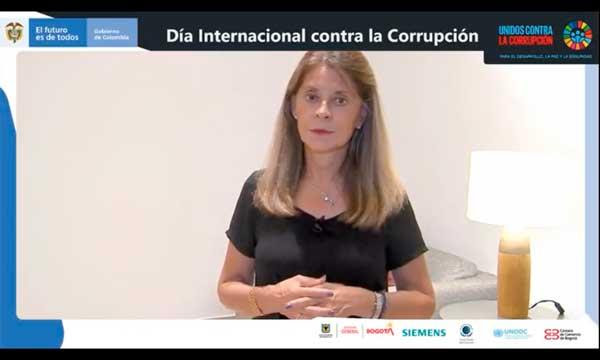 """""""Con dos nuevas herramientas, les cerraremos el paso a los corruptos"""": Vicepresidenta en Día Internacional de LuchaAnticorrupción"""