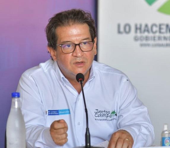 MinAgricultura selló compromisos con gobernador Monsalvo para beneficiar a sectores productivos en elCesar