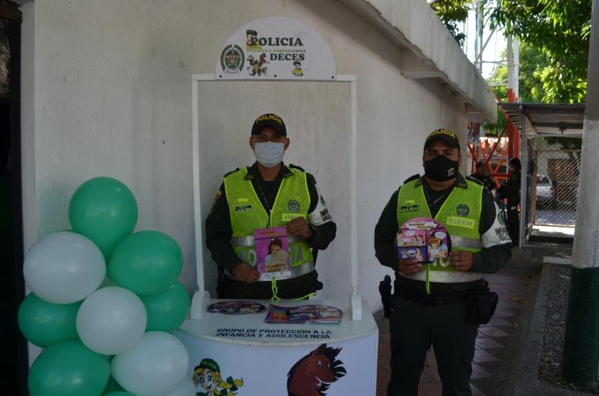 Campaña EINFA de la Policía para la protección de la Infancia yAdolescencia