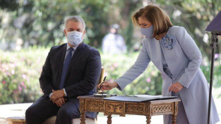 Margarita Cabello se posesionó como Procuradora General de laNación