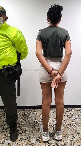Policía aprehendió una adolescente por el delito dehomicidio