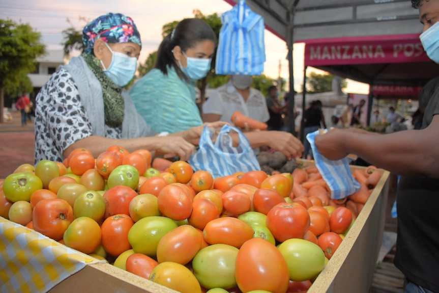 Se vendieron más de $44 millones en productos de la canasta familiar en el Mercado Campesino enValledupar