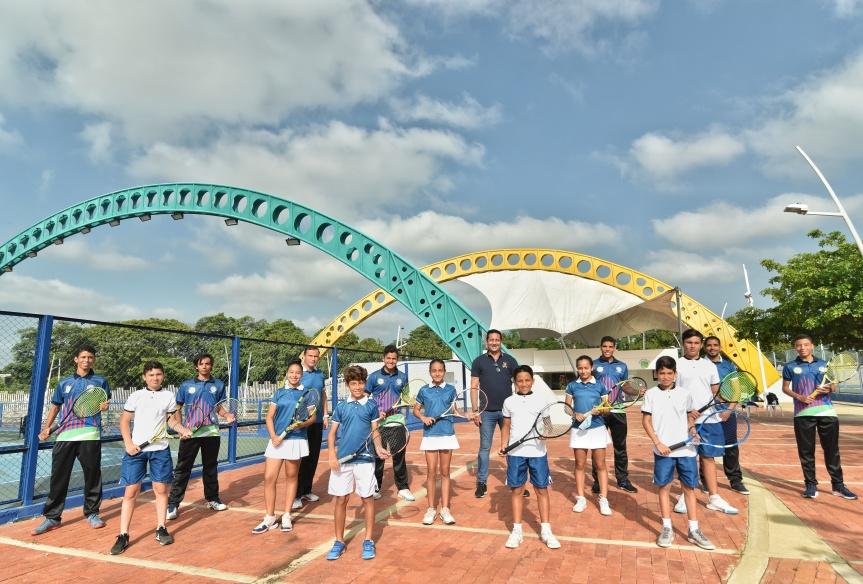 Selección Cesar de tenis participará en torneo nacionalfederado