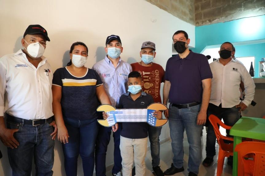En total 624 familias de Valledupar serán beneficiadas con mejoramientos integrales de susviviendas
