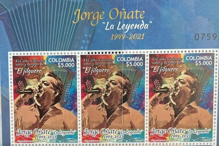 En Valledupar presentan emisión de estampilla como homenaje a JorgeOñate