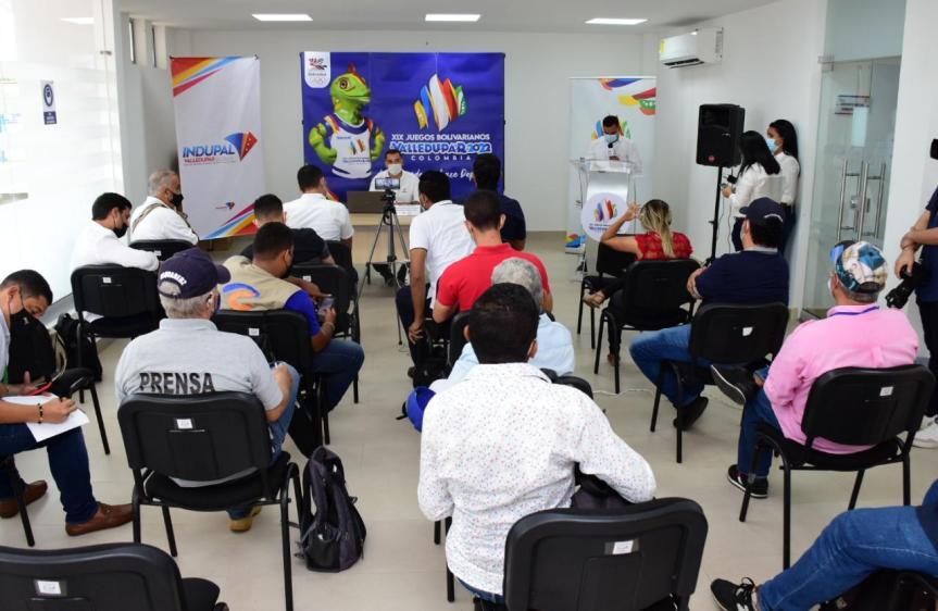 """""""La planeación avanza conforme a los tiempos establecidos"""" : Director de los XIX Juegos Bolivarianos Valledupar2022"""