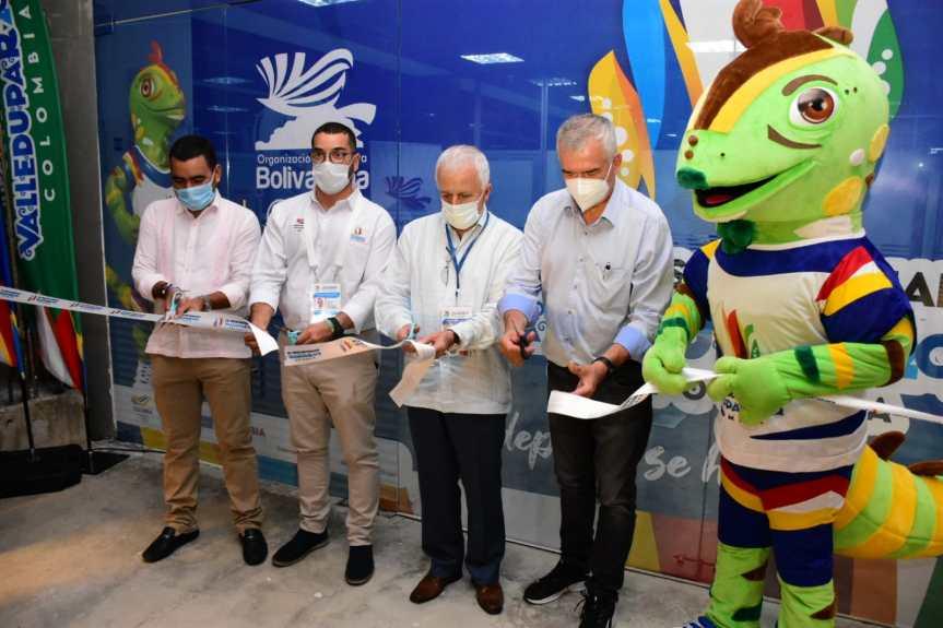 Inaugurada la sede de los XIX Juegos Bolivarianos Valledupar2022