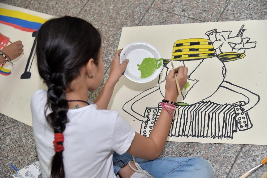 Abiertas las inscripciones para el concurso 'Los niños pintan el FestivalVallenato'
